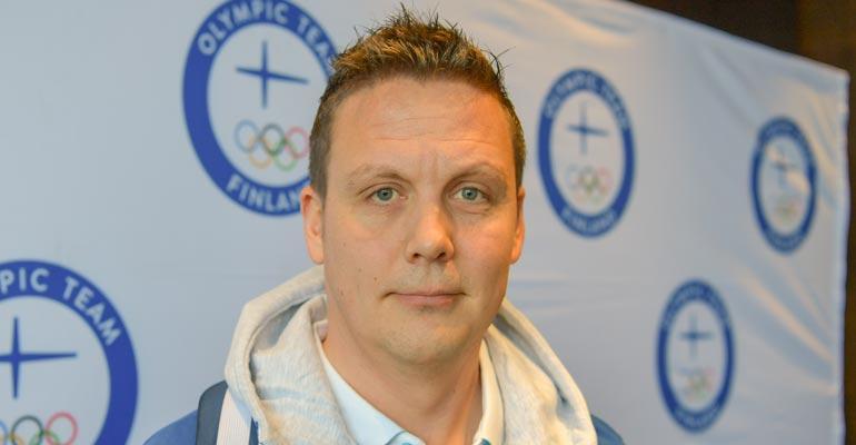 Lauri Marjamäki nähtiin Tampereen yössä.
