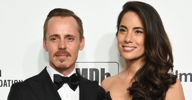 Jasper Pääkkönen ja Alexandra Escat juhlivat Hollywoodissa.
