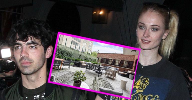 Sophie turner ja Joe Jonas kämppä