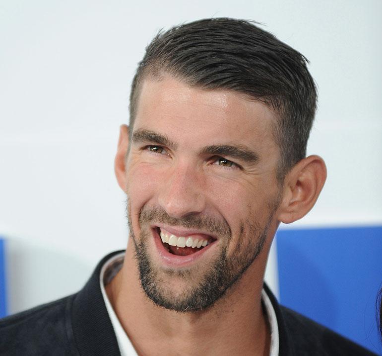 Michael Phelps punaisella matolla