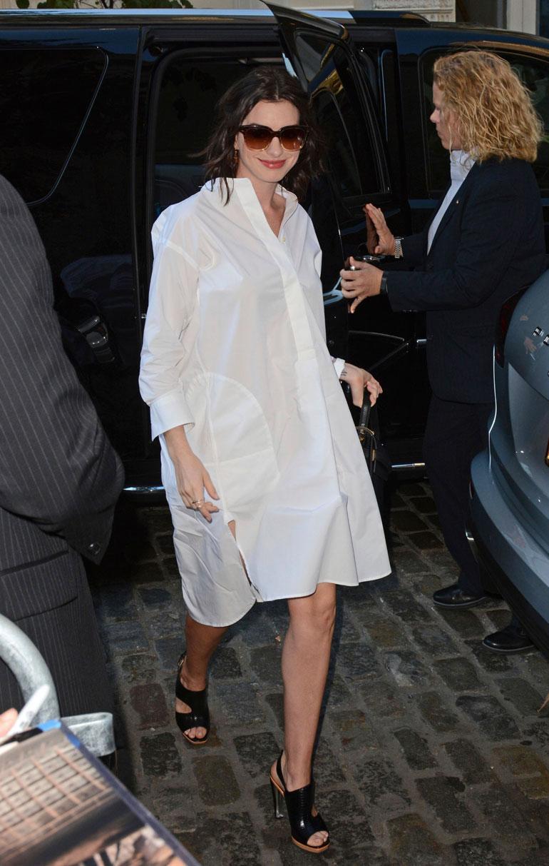 Anne Hathaway New Yorkissa