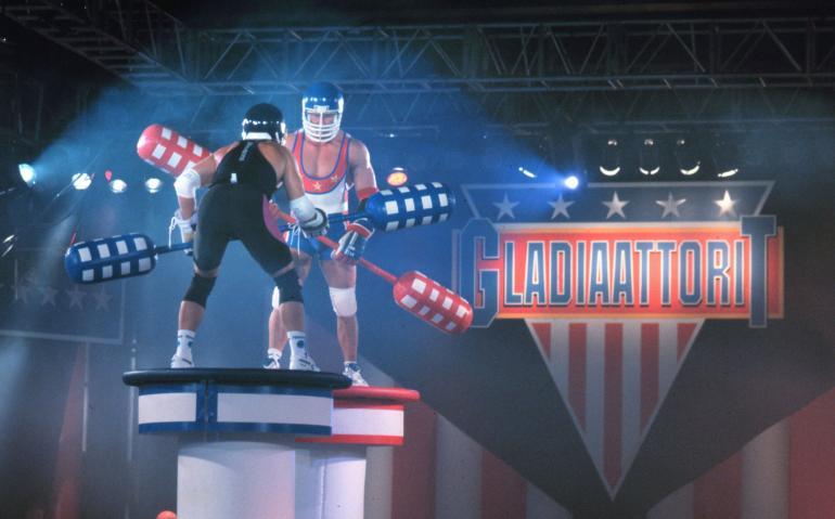 Gladiaattorit oli ohjelma, jossa sattui ja tapahtui.