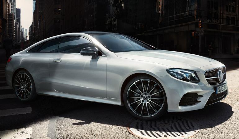 Mercedes-Benz E-sarjan Coupé näyttää tältä.
