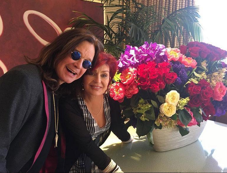 Ozzy ja Sharon Osbourne