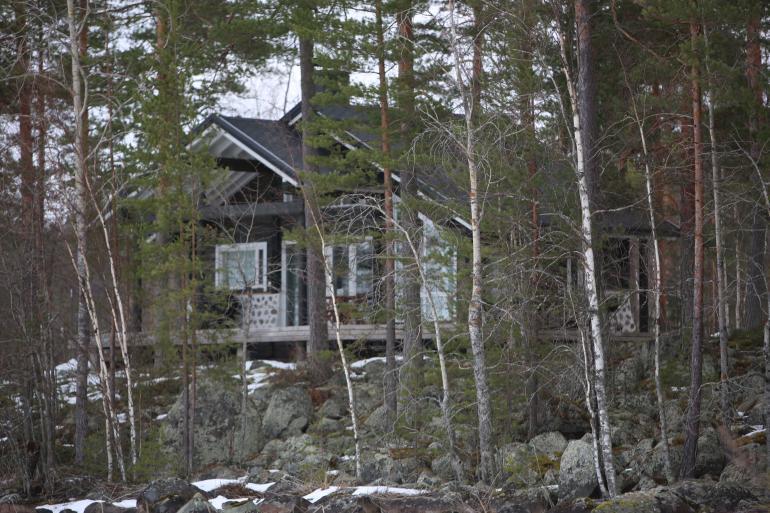 Vettelin mökki Suomessa, Joutsa