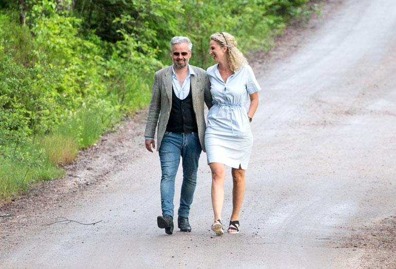 Ari Behn ja Ebba Rysst Heilmann