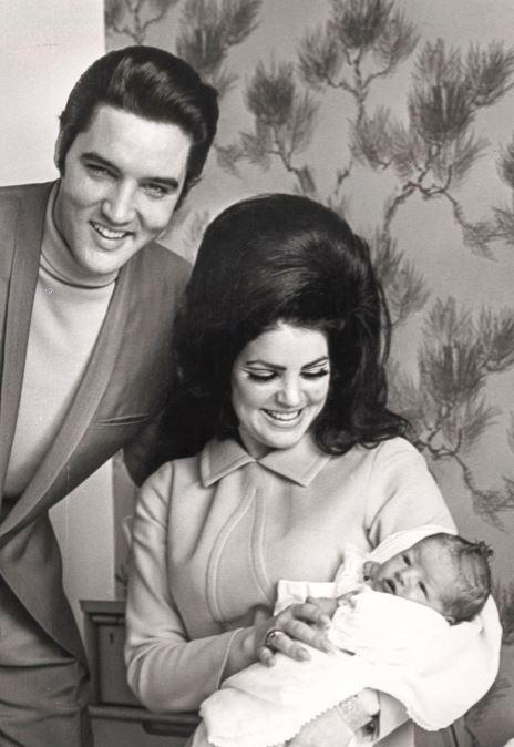 Elviksen ja Priscillan ainut yhteinen lapsi syntyi 1968.