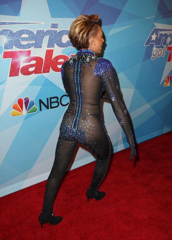 Haalari takaa mel B America's got Talent