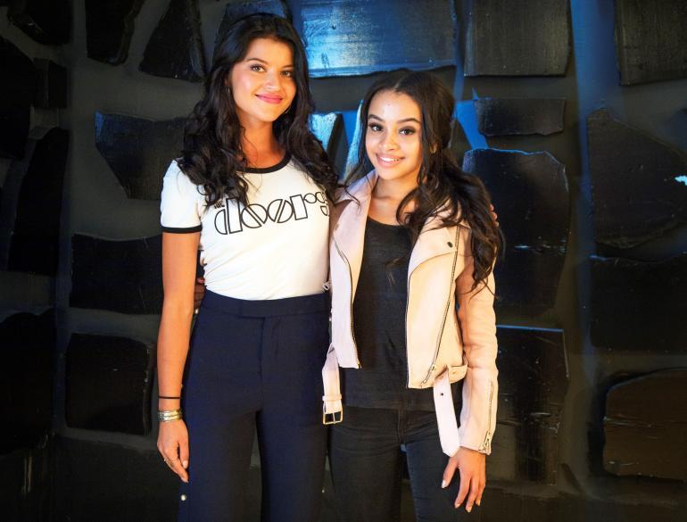 Sofia Arasola, 26, ja Eva Adamson, 19, ovat uudet Salkkari-tähdet.