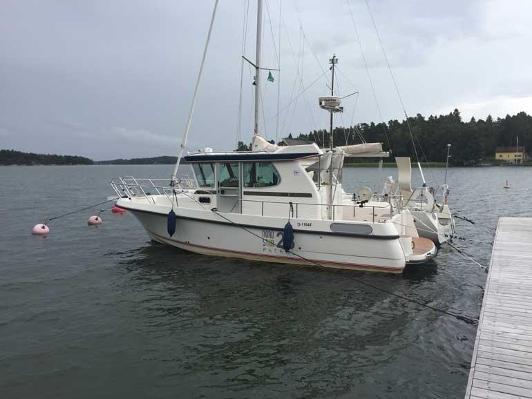 Juha Sipilän vene.
