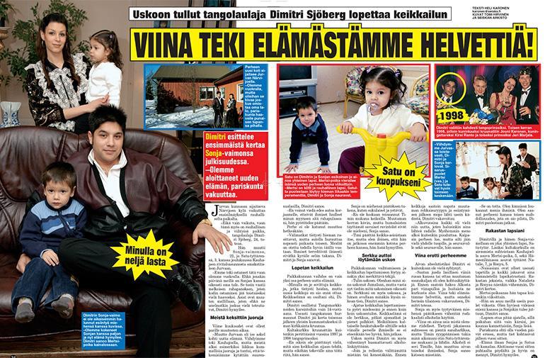 Dimitrin perhe antaa haastattelun seiskalle