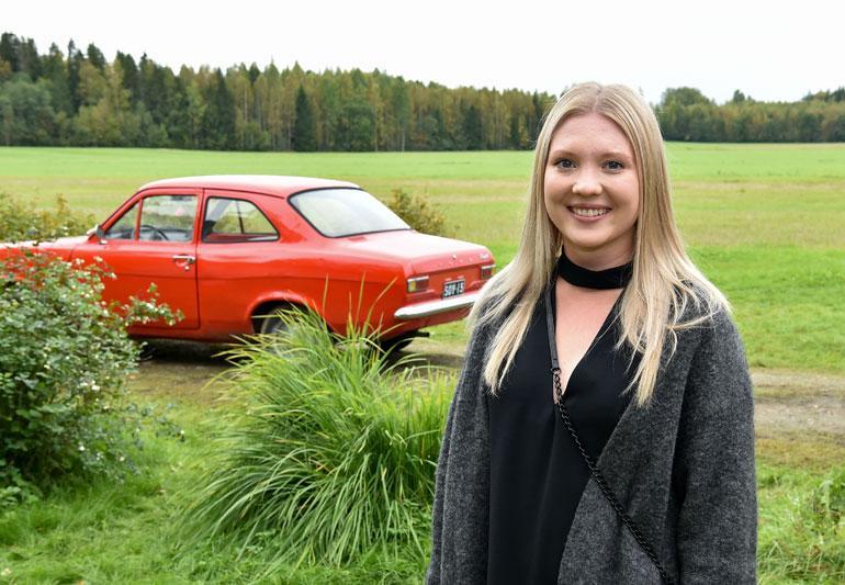 Kajaanilainen Satu Tuuli Karhu, 22, nappasi jo uransa ensimmäisen elokuvapääroolin, vaikkei ole vielä edes valmistunut Teatterikorkeakoulusta.
