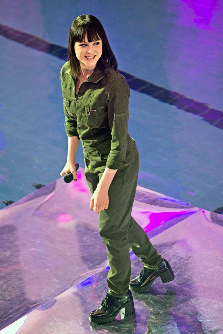 21-vuotiaan Anniina Timosen sydän sykkii räpille.  – Oli tosi ihana fiilis esiintyä. Olen elementissäni, kun pääsen lavalle.