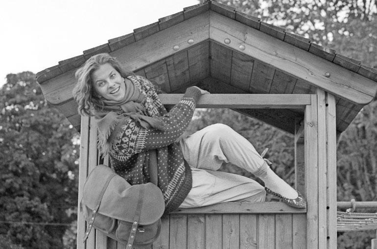 Satu Silvo vuonna 1985.