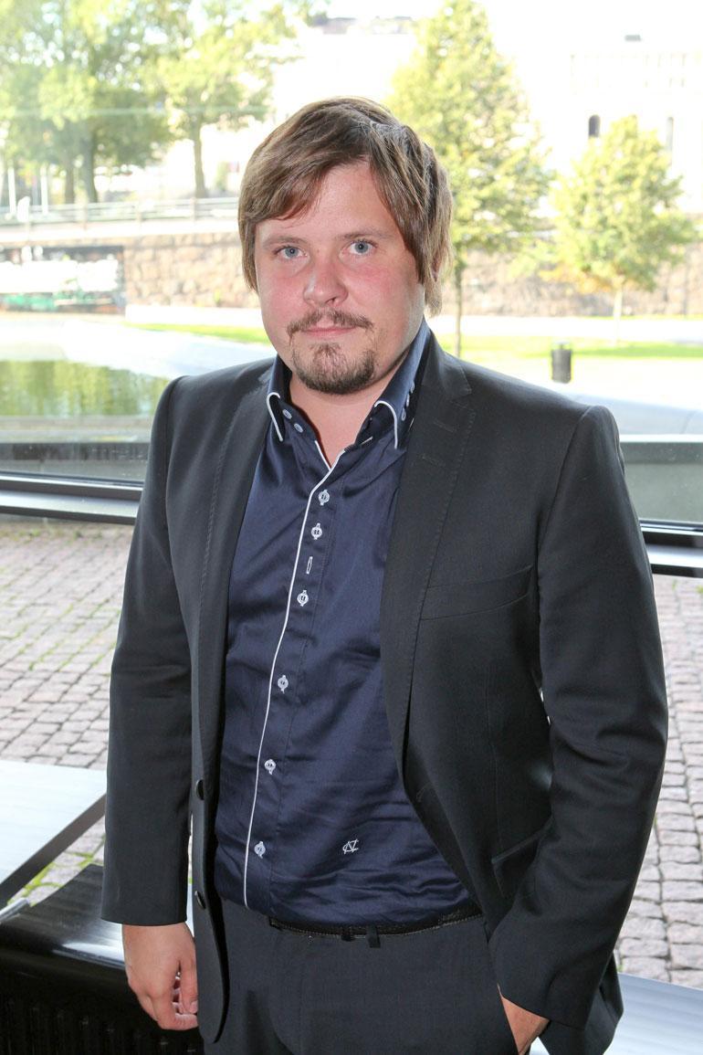 Janne Kataja vuonna 2011.