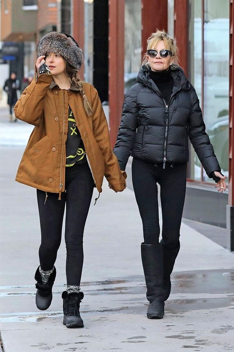 Dakota Johnson on Melanie Griffithin ja Don Johnsonin tytär.