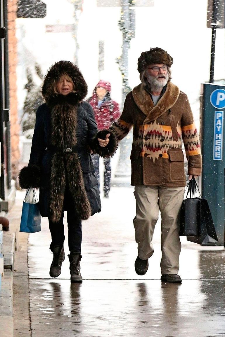 34 vuotta yhtä pitäneet Goldie ja Kurt hätkähdyttivät alkusyksystä lupailemalla reissua alttarille!