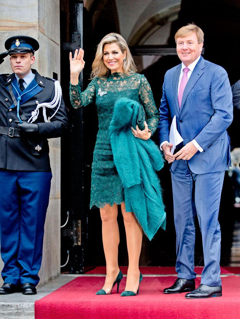 Hollanin kuningatar Maxima
