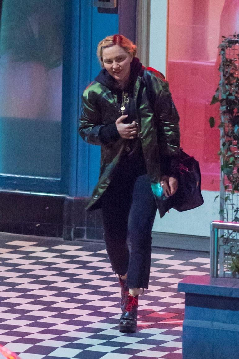 Madonna Lontoossa.