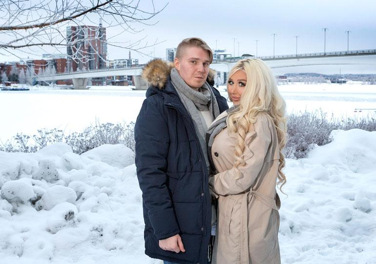 Aleksi Nurmi & Amanda Ahola.