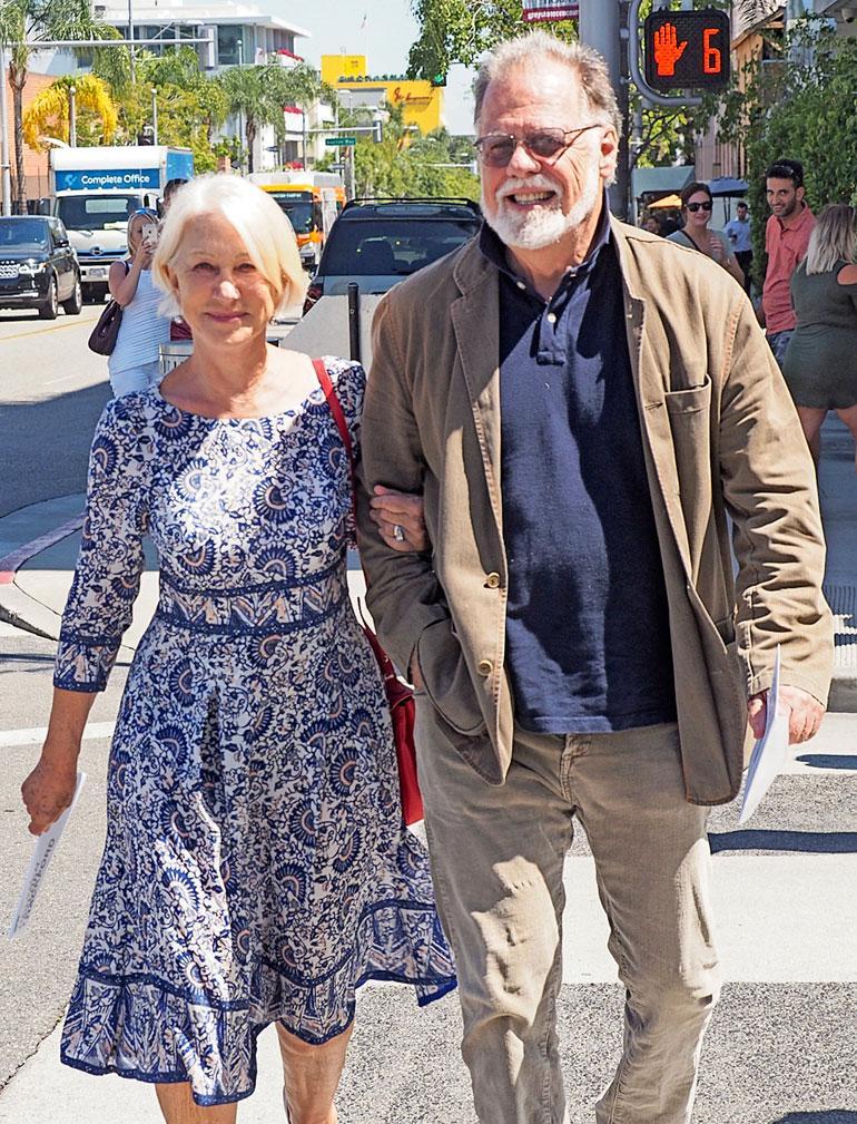 Helenin ohjaajamies Taylor Hackford voitti Oscar-palkinnon 70-luvulla tekemästään lyhytelokuvasta.