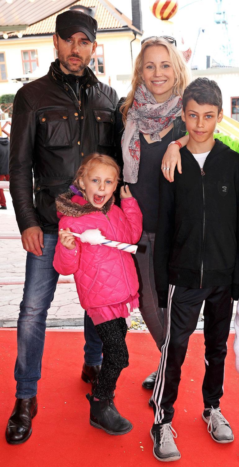 Sofialla ja Danielilla on kaksi lasta Nile ja Ossian. – Lapset saavat päättää aikuisina itse uskostaan. 