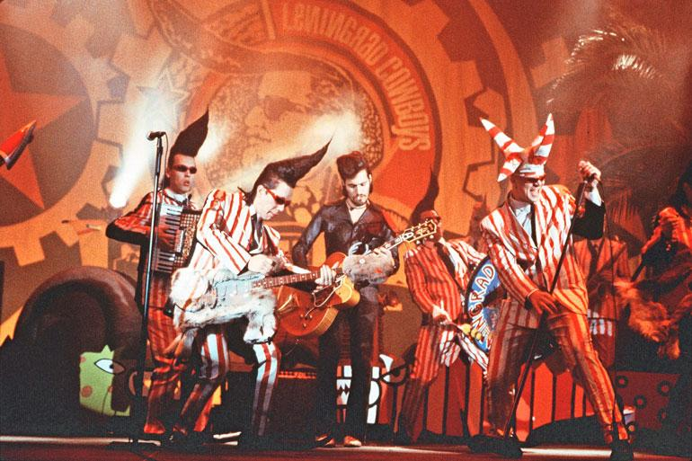 Leningrad Cowboys Jäsenet