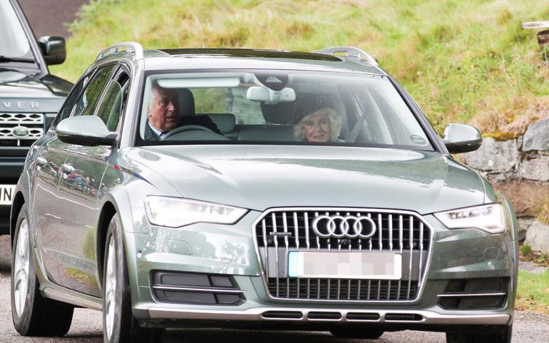 Ison-Britannian prinssi Charles ja herttuatar Camilla