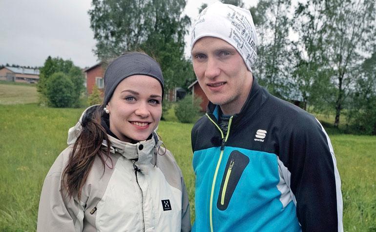 Elli ja Paavo tutstuivat MTV:n Maajussille morsian -ohjelman kuvauksissa kesällä 2016.