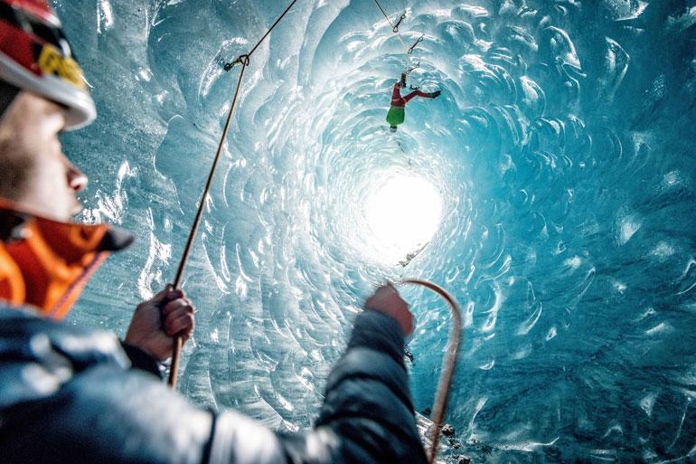 jääluolakiipeily