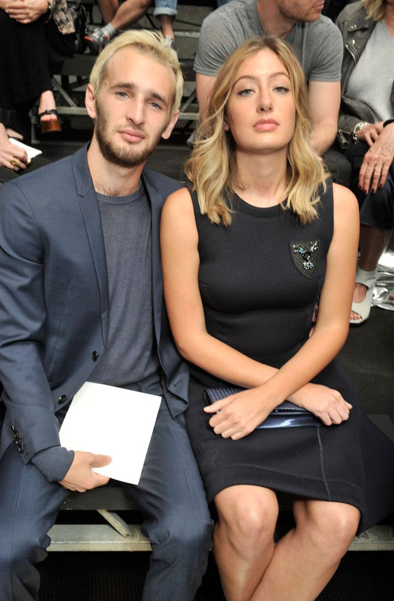 Hopper ja naisystävä Uma Von Wittkamp.
