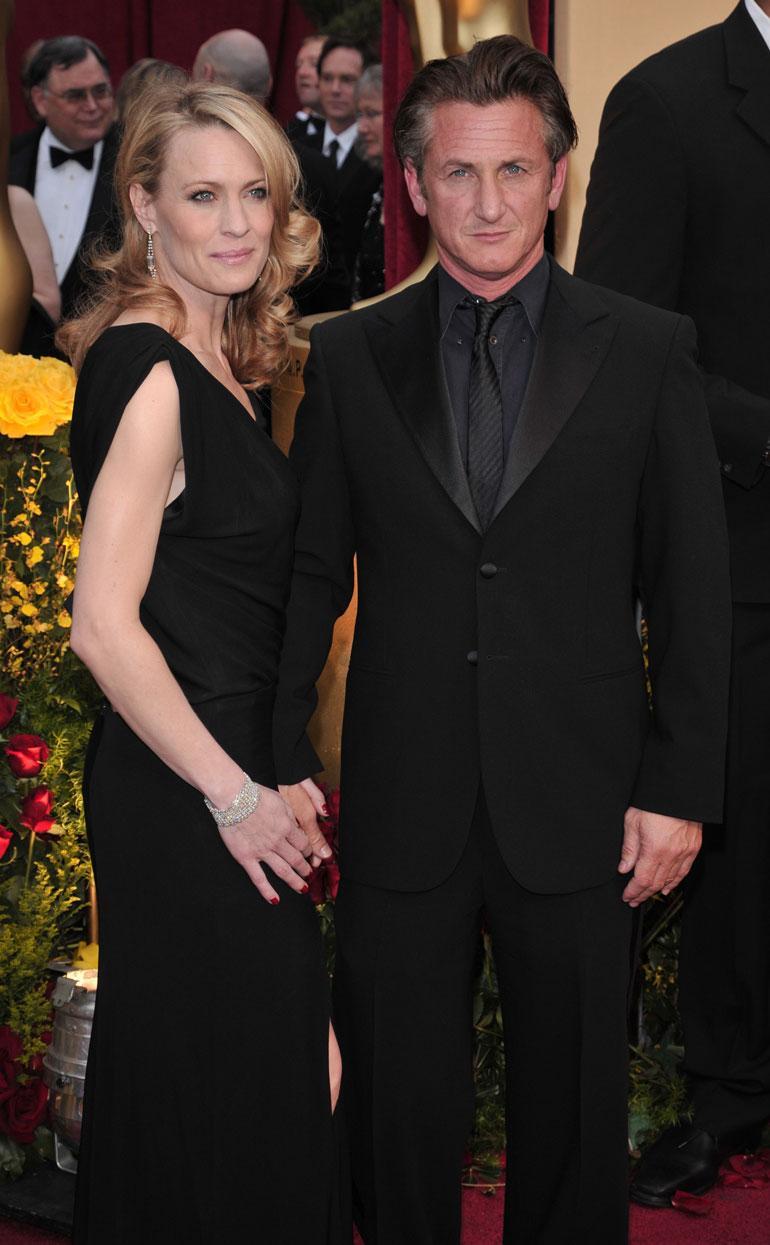 Sean Penn ja Robin Wright avioituivat vuonna 1996, mutta liitto pättyi vuonna 2010.
