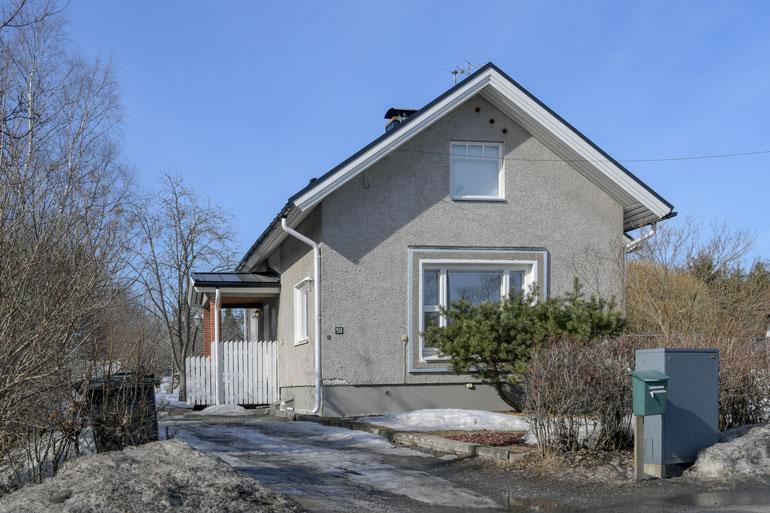 Parin uusi koti sijaitsee Tampereella aivan Näsijärven tuntumassa.