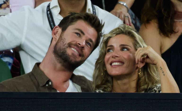 Chris Hemsworth ja Elsa Pataky