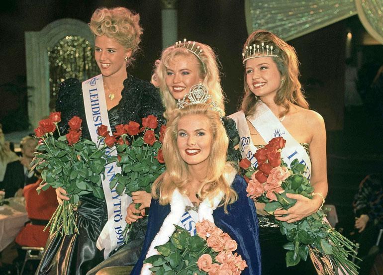 Terhi Alanya valittiin vuoden 1991 Miss Suomi -kilpailussa lehdistön ihannetytöksi.