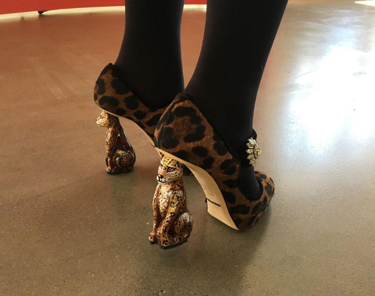 Vappu Pimiän kengät
