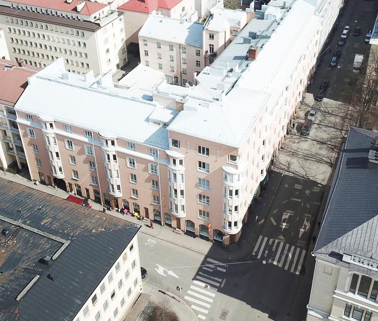 Parin uusi Suomen-koti sijaitsee vain kivenheiton päässä Helsingin ydinkeskustasta.