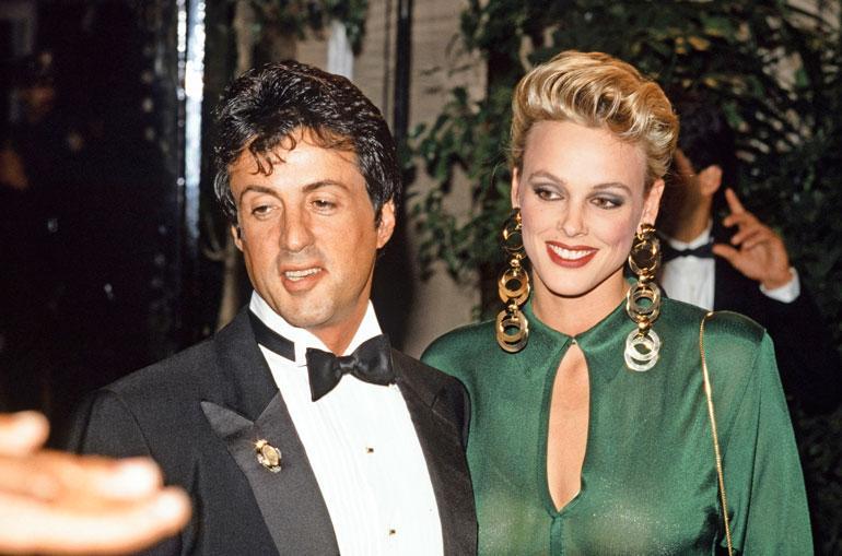 Brigitte ja Sylvester Stallone olivat aikansa superpari. Avioliitto kesti kuitenkin vain kaksi vuotta.