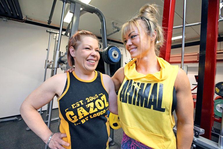 Jaanan ja Janica-valmentajan välit ovat lämpimät. Valmennussuhteen aikana kaksikon välille on syntynyt ystävyys.