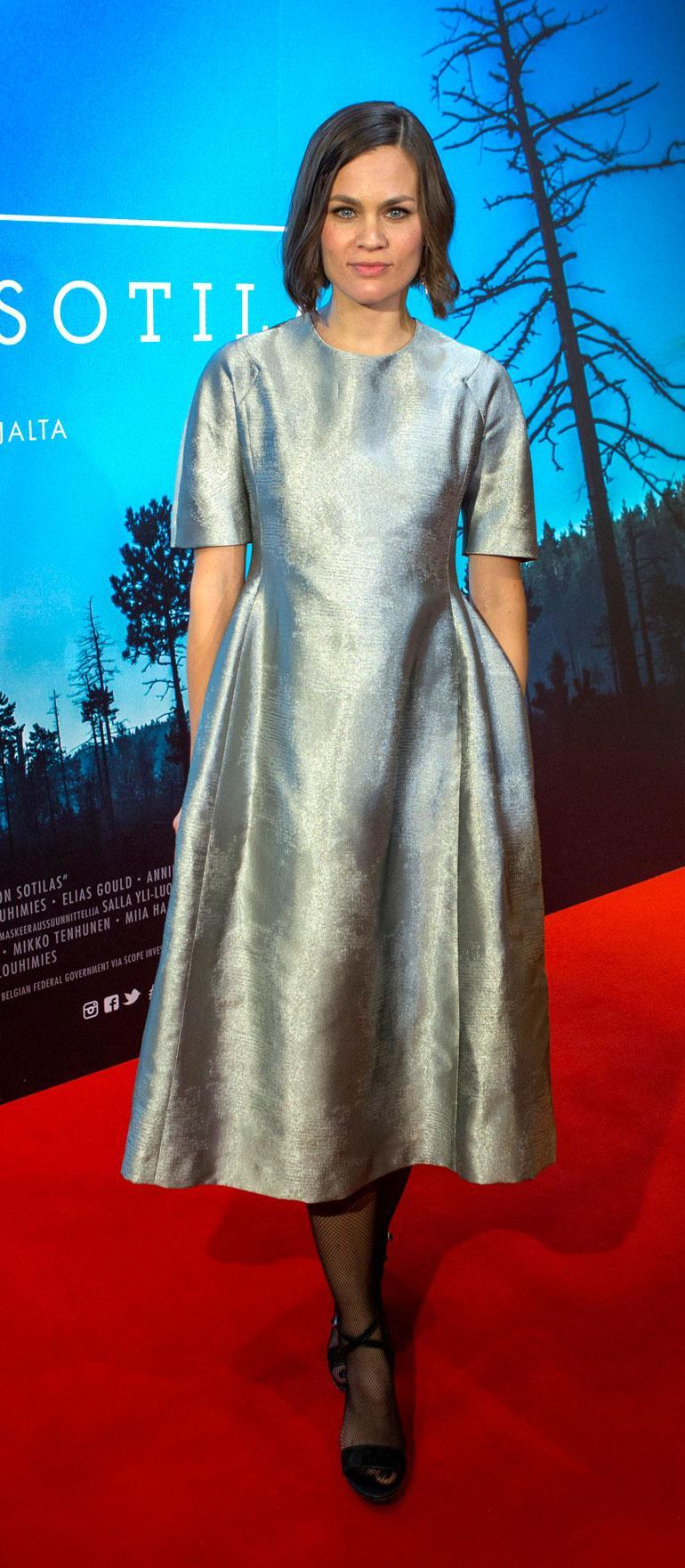 Annika Stenvall näytteli Tuntematon sotilas -elokuvassa.