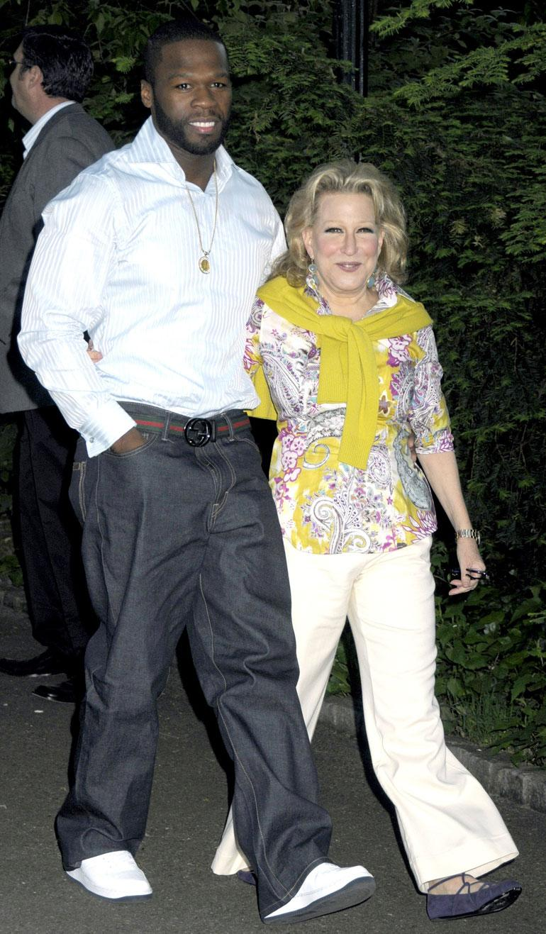 Betty Midler ja 50 Cent