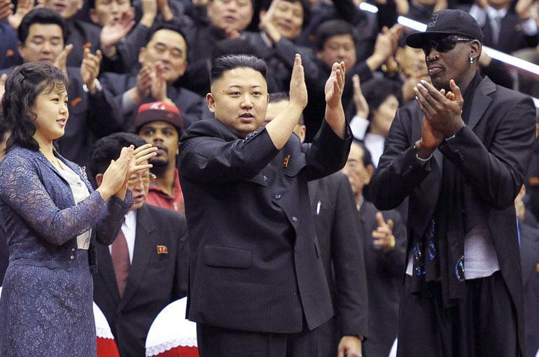 Dennis Rodman ja Kim Jong-un