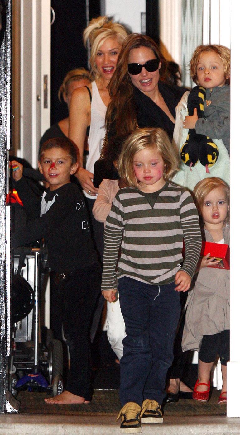 Gwen Stefani ja Angelina Jolie