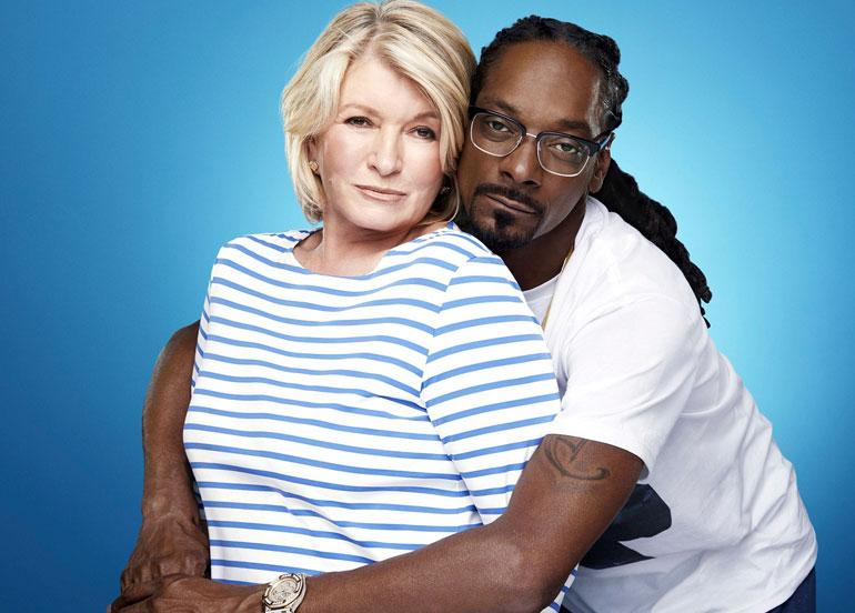 Martha Stewart ja Snoop Dogg