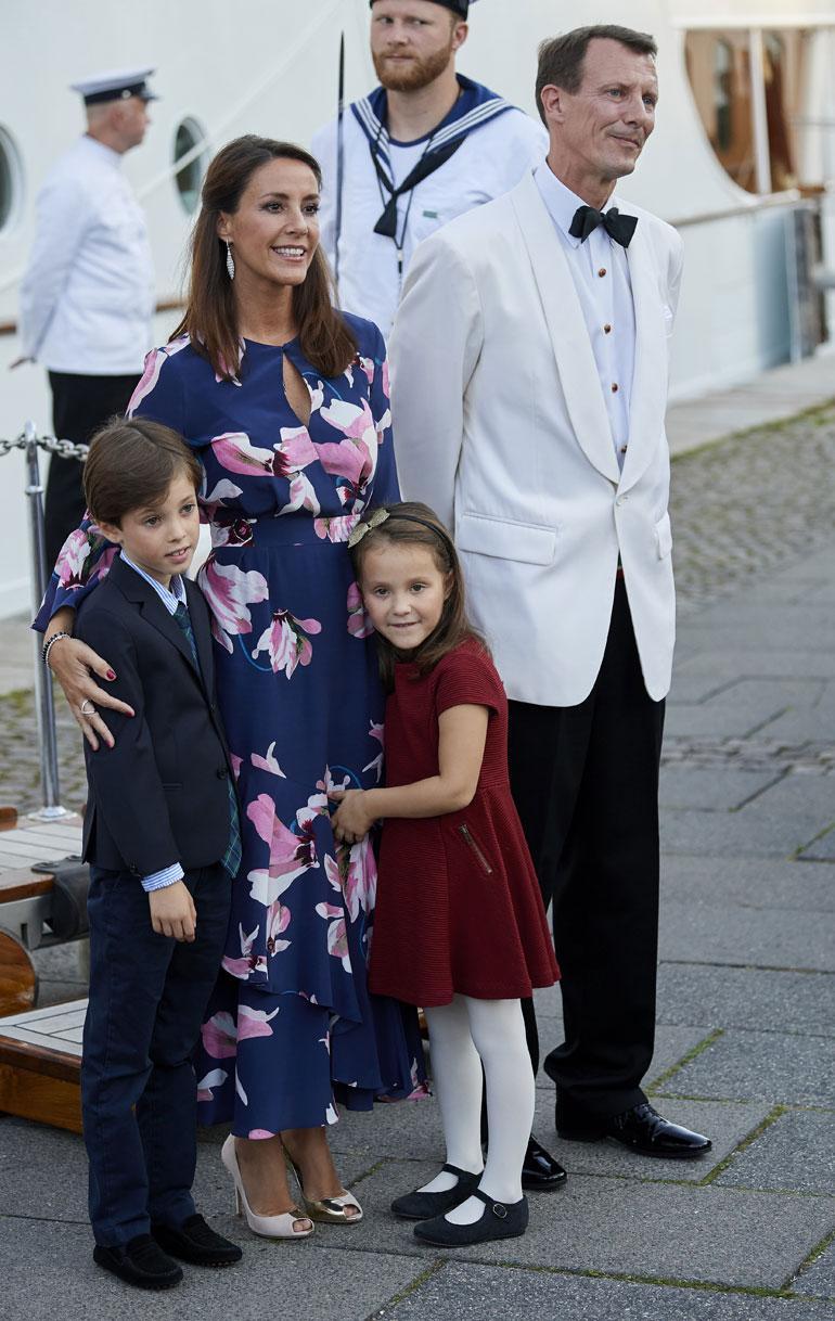Tanskan prinssipari Joachim ja Marie