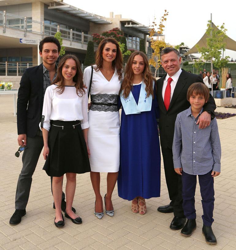 Jordanian hallitsijapari Abdullah ja Rania