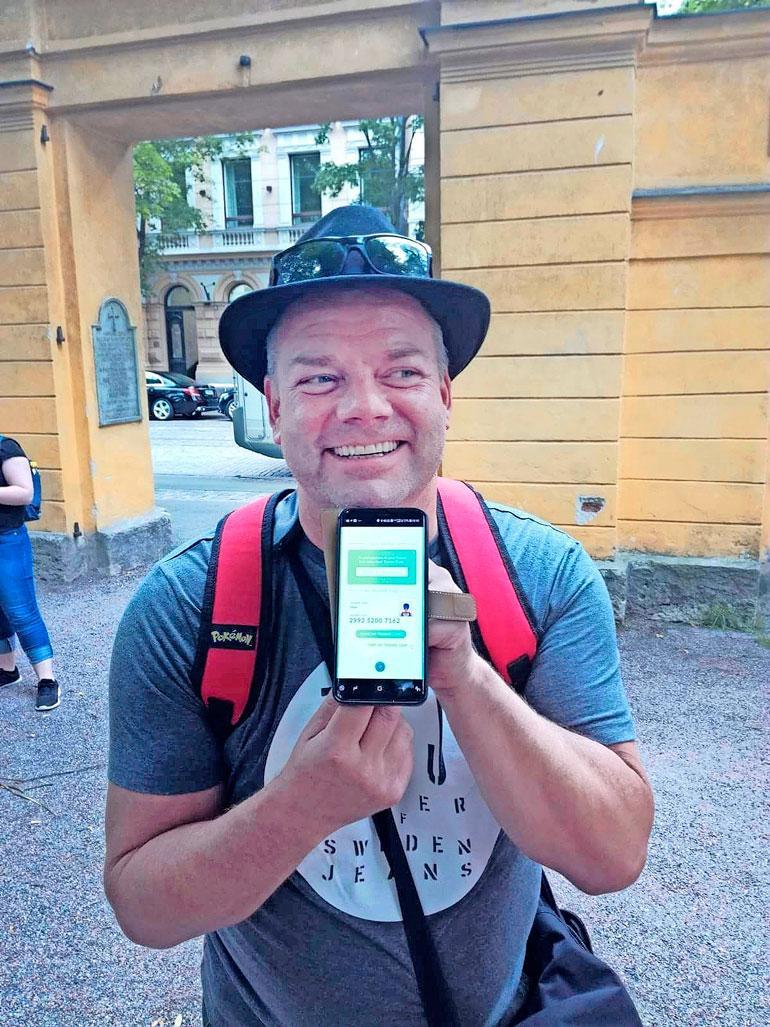 Jari esitteli Seiskan lukijalle Poké-tuloksiaan. – Jengiä kuin pipoo ja leppoisa tunnelma! Moikataan kun nähdään, mutta ei kun luckyegg on päällä, Siltsu kirjoitti ohjeeksi Instagramissa.