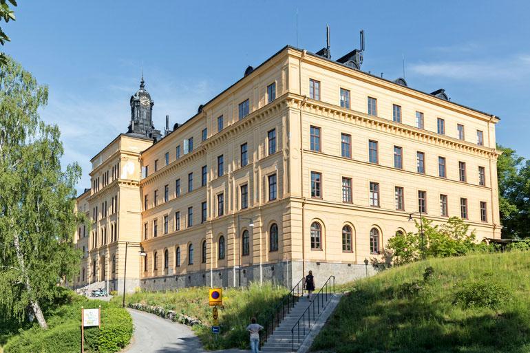 Arvostettu Campus Manilla -koulu sijaitsee Tukholmassa.