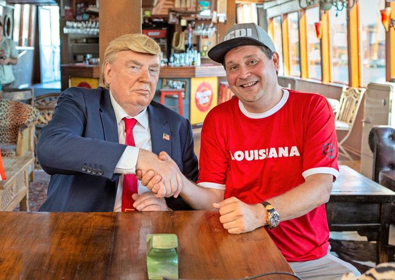 Trumpia ja Jethroa yhdistää moni asia, mutta presidentti Jeti ei sentään vielä ole.