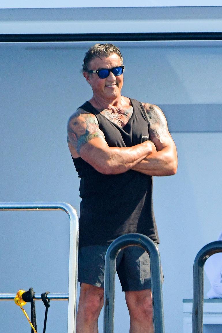 Sylvester Stallone jahdilla.
